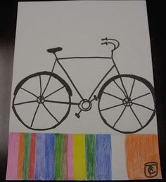 ART with Mrs. Smith: Contemporary Style Bicycle Art