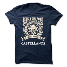 CASTELLANOS -  Being A Girl scout CASTELLANOS T Shirt, Hoodie, Sweatshirt