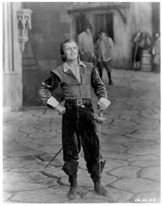 "Douglas Fairbanks in ""The Three Musketeers"""