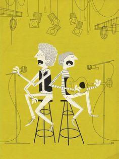 Simon & Garfunkel :3 a la Andrew Kolb