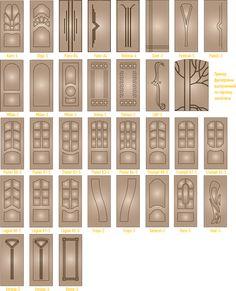 Рисунки фрезеровки ПВХ и Корабельная фанера / Стальные двери Сезам, Москва