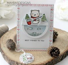 Mayras Designs: Lots of Fun with Lawn Fawn and The Stamp Market ....