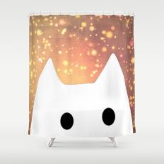 cat-212 Shower Curtain