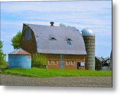 Disposed Spring Metal Print by Bonfire #Photography