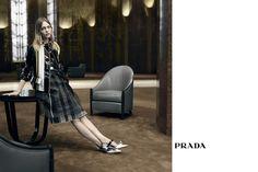 8d8b0957a6 Sasha Pivovarova by Steven Meisel for Prada Spring Summer 2016 Fashion  Brands