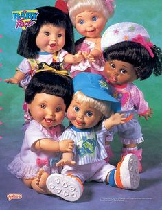 sw33tn0stalgia:    Baby Face Dolls by Galoob
