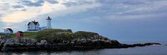 Nubble Lighthouse at dawn