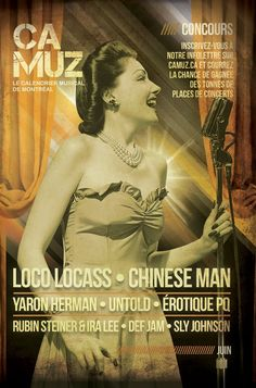 Camuz Montreal - Montreal, music and everything about it Magazine, Man, Cover, Movie Posters, Pageants, Music, Film Poster, Magazines, Billboard