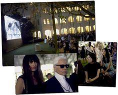 Chanel estreia cutra com soirée no Hotel Raffles, em Cingapura.