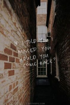 I miss you more than anything in this world. I Miss You Wallpaper, Wallpaper Quotes, Sad Wallpaper, Sad Quotes, Love Quotes, Inspirational Quotes, You Broke Me, Told You So, Emo