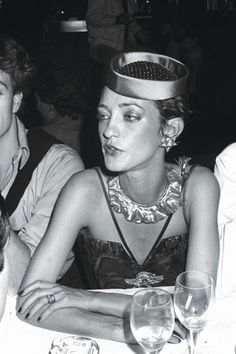 The inimitable Loulou de la Falaise c. 1978