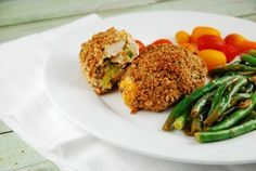 Broccoli and Cheddar Stuffed Chicken Breasts Recipe - 5 Points + - LaaLoosh