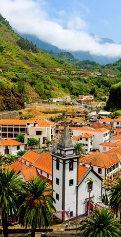 View of Mountain Village Sao Vicente during Flower Festival, Madeira Island, Portugal   |   32 Stupendous Places in Portugal every Travel Lover should Visit