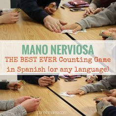 A fun, authentic game for learning numbers and practicing them in Spanish.