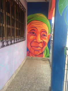 Street Art! Copan, Honduras