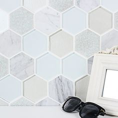 9 Stunning Useful Ideas: Rustic Backsplash tin backsplash cupboards.Farmhouse Backsplash Joanna Gaines how to install herringbone backsplash. Hexagon Tile Backsplash, Cheap Backsplash Tile, Hexagon Mosaic Tile, Rustic Backsplash, Travertine Backsplash, Beadboard Backsplash, Herringbone Backsplash, Kitchen Backsplash, Backsplash Ideas