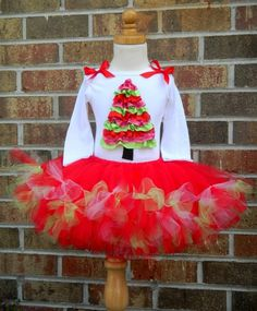 Ruffled Christmas Tree shirt