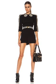 Sass & Bide Two Ships Viscose-Blend Romper in Black | FWRD [1]