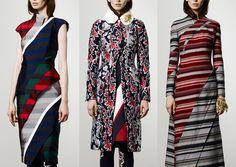 Thom Browne – Pre A/W 2104/15-Blazer and Tie Stripes – Jacquard Leaf Pattern – New Camo Foliage – Tailored Stripes and Checks – Contrasting Fabrics – Tartan Mix