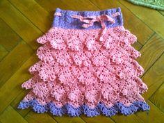 Hainute copii tricotate si crosetate la comanda: Fustita crosetata Lace Shorts, Knitting, Crochet, Baby, Women, Fashion, Mariana, Tricot, Moda