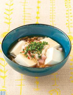 新生姜とかに風味かまぼこのあんかけ豆腐 のレシピ・作り方 │ABCクッキングスタジオのレシピ | 料理教室・スクールならABCクッキングスタジオ