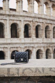 eee0c2af9afd Chanel square mini black caviar. Rome. Chanel Square Mini, Chanel Caviar Bag ,