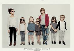 Updating the style of #eyewear for kids, France-based design duo Karoline Botthorel-Bolzinger and Anne Masanet have created an eyewear line especially for the young ones.  Called 'Very French Gangsters', the Parisian-brand eyewear shop makes cute- and cool-looking prescription glasses and #sunglasses, for #children aged 3 to 10 years old.