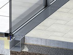 Fassadenentwässerung -