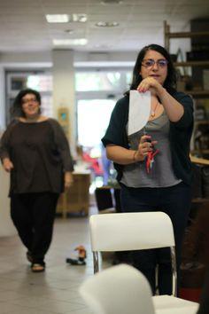 Il primo cartamodello di Anna!!! Arsra - foto di A.Lonzi.