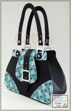 Pretty paper purse.
