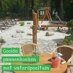 Pannenkoekenrestaurant met natuur- en waterspeeltuin in het Gooi #leukmetkids #uitje