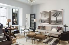 Manhattan town house designed by Nate Berkus Interiors. Published in Architectural Digest, November 2012.
