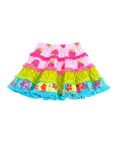 Take a look at this Pink Whimsy Cupcake Skirt - Infant, Toddler & Girls by Servane Barrau Designs on #zulily today!