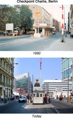 The last time I visited Checkpoint Charlie in Berlin was in 1990, just before it was deactivated.