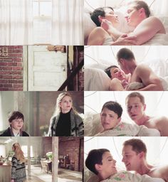 Pinterest - OUaT 30 day Challenge - fav. OMFG moment - day 14 - When Charming and Snow were in bed. When I saw this O.O R U F*CKING KIDDING MEEE???