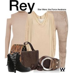 Inspired by Daisy Ridley as Rey in Star Wars The Force Awakens - Shopping info! Character Dress Up, Star Wars Outfits, Character Inspired Outfits, Rey Star Wars, Fandom Fashion, Fandom Outfits, Casual Cosplay, Geek Chic, Mode Style