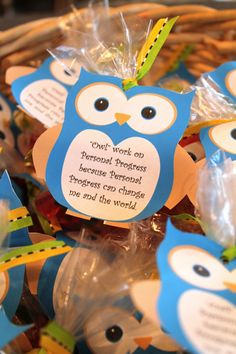 "Young Women Owl handout for Personal Progress.  ""Owl"" work on personal progress.  Post includes an outline and download for a great personal progress activity."