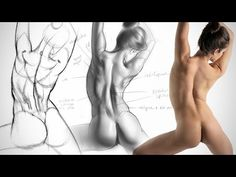 Anatomy Drawing Critiques - The Lower Back by Proko  / Drawing Technique