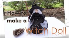 Fairy Dolls, Diy Halloween Decorations, Diy Doll, The Creator, Crochet Hats, Handmade Items, Witches, Floral, Youtube