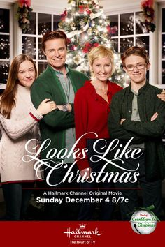 "Its a Wonderful Movie - Your Guide to Family Movies on TV: 'Looks Like Christmas. , Its a Wonderful Movie - Your Guide to Family Movies on TV: 'Looks Like Christmas' a Hallmark Channel Original ""Countdown to Christmas"" Movie Starring . Películas Hallmark, Hallmark Holiday Movies, Christmas Movies List, Hallmark Holidays, Hallmark Channel, Christmas 2016, Christmas Pageant, Christmas Cartoons, Christmas Christmas"