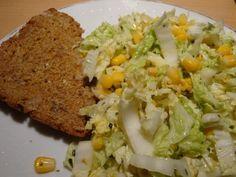 Gourmandises végétariennes: Chinakohl-Mais-Salat