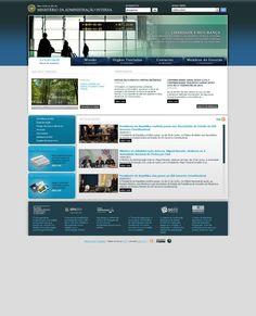 Site do Ministério da Administração Interna (2010)
