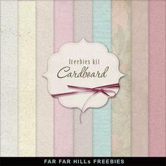 Freebies Cardboard Textures Background
