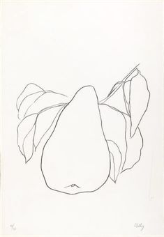 ELLSWORTH KELLY | Pear III, from Suite of Plant Lithographs (A. 47) | 1960s, Prints & Multiples | Christie's