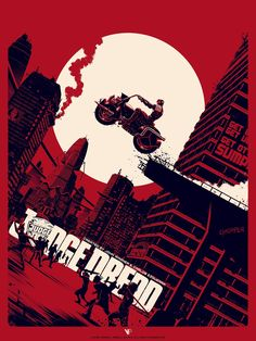 Matt Ferguson Judge Dredd Block War Print Release