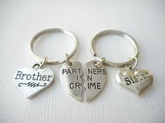 Key Chain for Brother.Gift for Brother.Brother of by RaiseMyGlass ...
