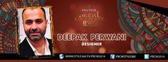 #PBCW2014 day 3 designer #DeepakPerwani Watch live tonight: http://style360.tv/pbcw2014/live.html
