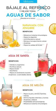 Diet Detox Water picked just for you diy - Detox Drinks for Weight Loss Healthy Juices, Healthy Drinks, Healthy Tips, Healthy Recipes, Healthy Food, Drink Recipes, Nutrition Drinks, Healthy Water, Bebidas Detox