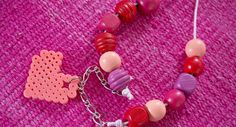 Koru hamahelmistä ystävälle Beaded Bracelets, Jewelry, Jewlery, Jewerly, Pearl Bracelets, Schmuck, Jewels, Jewelery, Fine Jewelry