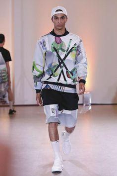 Andrea Crews Menswear Spring Summer 2015 - NOWFASHION